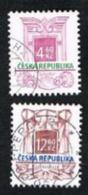 REP. CECA (CZECH REPUBLIC) - SG 104.108  - 1997 ARCHITECTURAL STYLES     -   USED - República Checa
