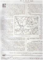 Guerre 14-18 La Semaine  Militaire  Du 11 Au 18 Mars 1915  Region   Neuve Chapelle  Aubers Fromelles Illies  Herlies + C - Old Paper