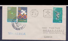 Mexico Cover 1968 Olympic Games In Mexico - Dia De Clausura - Bis München 1972 (G114-29) - Summer 1968: Mexico City