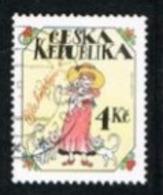 REP. CECA (CZECH REPUBLIC) - SG 154  - 1997 GREETINGS STAMPS    -   USED - República Checa