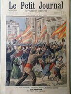 Le Petit Journal Du 15 Mai 1898 Guerre Hispano-Americaine Elections Legislatives - Kranten