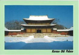 Injogjon Pavilion, Korean Old Palace, South Korea - Unused - Corea Del Sud