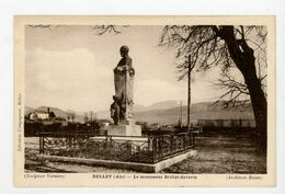 CPA: 01- BELLEY - LE MONUMENT BRILLAT-SAVARIN - - Belley