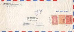 SAUDI ARABIA - AIRMAIL DJEDDAH - TIROL/AUSTRIA 1952 /ak1095 - Arabia Saudita