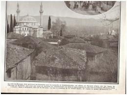 Guerre 14-18 La Ville Sacrée Des Turcs Turquie Istambul Stambul Constantinople - Old Paper