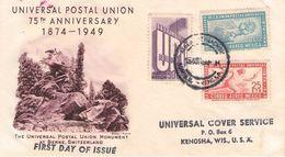 MEXICO - FDC 1949 UPU //ak262 - Messico