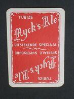 Oude Speelkaart RYCK'S ALE Brasserie Brouwerij DERYCK - TUBIZE - Otros