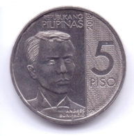 PHILIPPINES 2018: 5 Piso, KM 302 - Philippinen