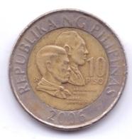 PHILIPPINES 1993: 10 Piso, KM 278 - Philippines