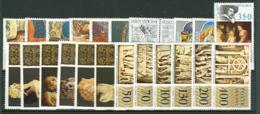 Vaticano 1977 Annata Completa/Complete Year MNH/** - Volledige Jaargang