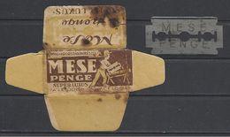 Hungary, Mese(Tale), '50s. - Razor Blades