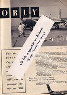 Orly Aéroport Avec Autobus  Extrait De La Vie Catholique : Avions , Tour De Contrôle , Mécaniciens ...5 Pages 11 Photos - Old Paper