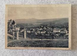 Cartolina Illustrata Meldola - Panorama Visto Dal Seminario, Per Forlì 1939 - Other Cities