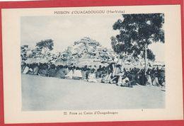 CPA: Burkina Faso - Haute Volta - Foire Au Coton - Mission D'Ouagadougou - Burkina Faso