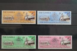 Gambia 223-226 ** Postfrisch #ST366 - Gambie (1965-...)