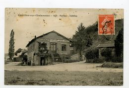 CPA: 01- CHATILLON-SUR-CHALARONNE - GARE - MARLIEUX - CHATILLON - - Châtillon-sur-Chalaronne