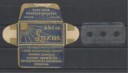 "Hungary, ""ábécé"" (abc) Swedesh Steel, 1944. - Razor Blades"