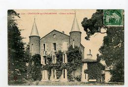 CPA: 01- CHATILLON-SUR-CHALARONNE - CHATEAU DE BIXIEUX - - Châtillon-sur-Chalaronne