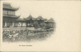 Ju Juen Garden ( Shanghaï ) , CPA ANIMEE - Cina