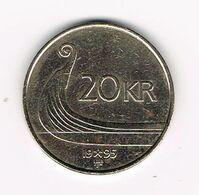 //  NOORWEGEN  20 KRONER 1995 - Norwegen