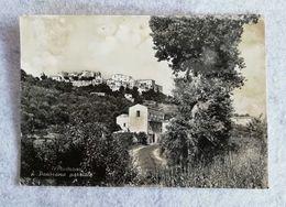 Cartolina Illustrata Minturno - Panorama Parziale, Per Bologna 1955 - Other Cities