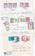 YOUGOSLAVIE     ENTIER POSTAL/GANZSACHE/POSTAL STATIONARY LOT DE 5 LETTRES - Postal Stationery
