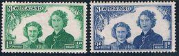 New Zealand B24-25 MLH Set Princess Margaret 1944 (HV0397) .. - Nouvelle-Zélande
