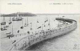 35 - SAINT MALO - LE MOLE DES NOIRES - Saint Malo