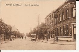 Bourg - Léopold - Rue De La Station (Geanimeerd) - Leopoldsburg