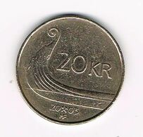 //  NOORWEGEN  20 KRONER 2003 - Norwegen