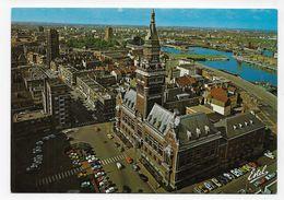 DUNKERQUE - N° 2077 - L' HOTEL DE VILLE ET BASSIN DU COMMERCE - CPSM GF VOYAGEE - Dunkerque