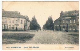 Camp De Beverloo - Grande Route D'Hechtel 1907  (Geanimeerd) - Leopoldsburg
