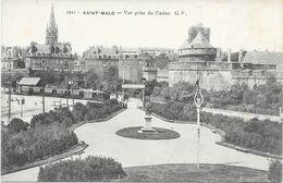35 - SAINT MALO  - VUE PRISE DU CASINO - Saint Malo
