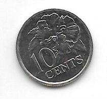 *trinidad & Tobago 10 Cents  1990 Km 31  Bu - Trinidad En Tobago