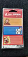 ETIQUETTES STICKERS 3 Feuilles BD LE Petit SPIROU Tome & Janry Sous Emballage D'origine - Old Paper