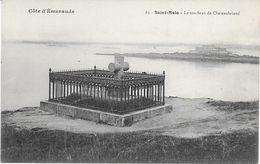 35 - SAINT MALO  LE TOMBEAU DE CHATEAUBRIAND - Saint Malo