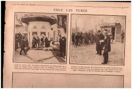 Guerre 14-18  ISTAMBUL STAMBOUL  TURQUIE  Cavalier Kurde   S Enfuient Devant Les Russes   Gare  San Stefano - Old Paper