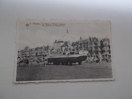 WENDUINE: Nr 42 - Het Strand En Amphiboot - Wenduine