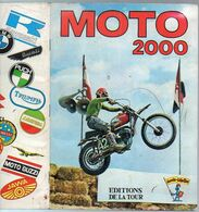 Album Chromo - 066 - MOTO 2000 - édition De La Tour - 1973 - Très Bon état - Moto