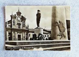 Cartolina Illustrata Lugo - Monumento A Francesco Baracca - Non Viaggiata - Other Cities