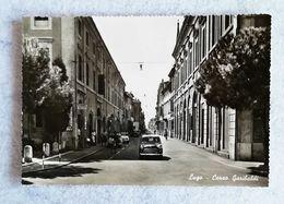 Cartolina Illustrata Lugo - Corso Garibaldi - Non Viaggiata - Other Cities