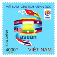 Block 4 Of Vietnam MNH Perf Stamps Issued On 7th Of Aug 2020 : Viet Nam Is The Chair Of ASEAN For 2020 (Ms1126) - Vietnam