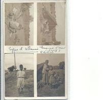 08 - 2020 - EUROPE - ALBANIE - Carte Photo - Multivues - Types D'Albanais - Campagne D'Orient - Albanië