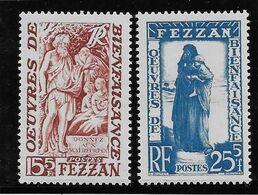 Fezzan N°54/55 - Neufs ** Sans Charnière - TB - Fezzan (1943-1951)