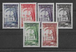 Fezzan Taxe N°6/11 - Neufs ** Sans Charnière - TB - Fezzan (1943-1951)