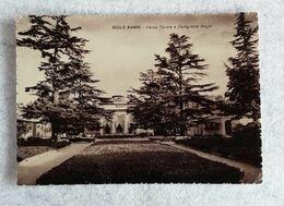 Cartolina Illustrata Riolo Bagni - Parco Terme E Padiglione Bagni, Per Bologna 1952 - Other Cities