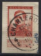 N°123 Obl. CHARLEROY 4E. Coba 8 Charleroi - 1912 Pellens