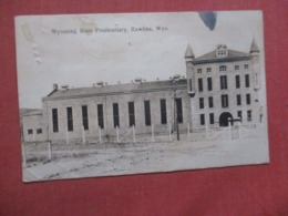 - Wyoming  State Penitentiary   Has Pin Hole   Rawlins  Wyoming    Ref 4269 - Etats-Unis
