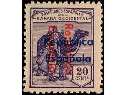 SAHARA: SPANISH DOMINION - Sahara Espagnol