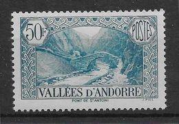 Andorre N°92 - Neuf ** Sans Charnière - TB - Neufs
